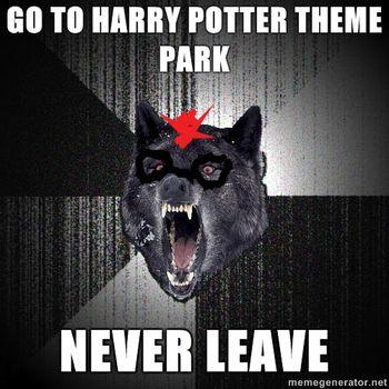 Hp wolf meme