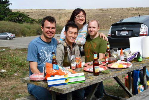 Tomales bay picnic