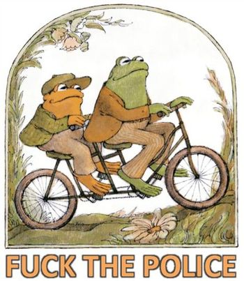 Frog and toad f the police