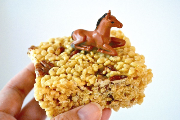 Kentucky Derby Rice Cereal Treats