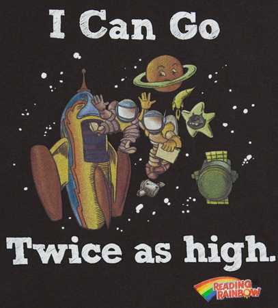 I can go twice as high