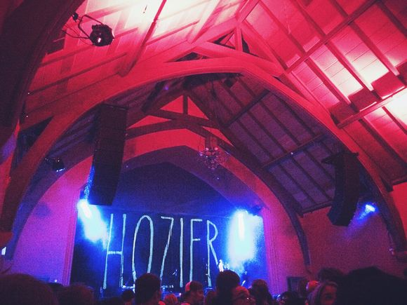 Hozier at the Chapel SF