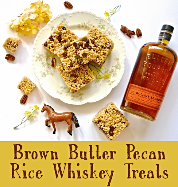 Brown Butter Pecan Rice Whiskey Treats