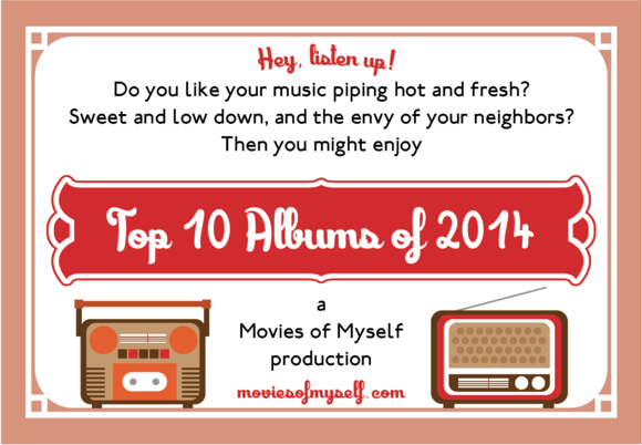 Top ten albums 2014
