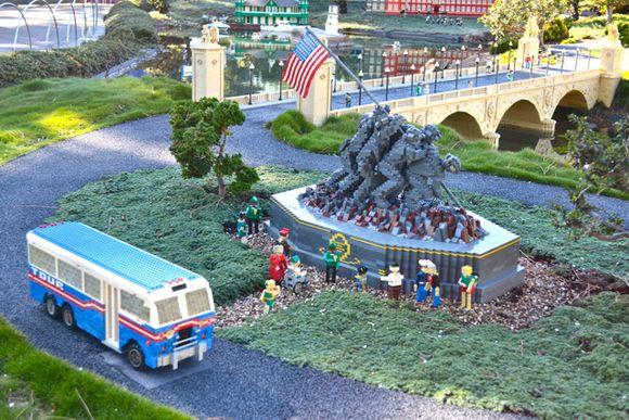 Lego usmc war memorial