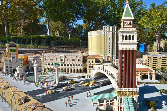 Lego venetian vegas